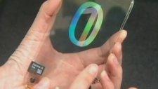 Şeffaf Dokunmatik Akıllı Cep Telefonu