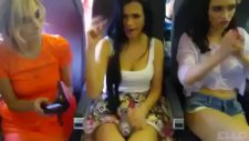 Tıklanma Rekoru Kıran Kızlar Şimdide Uçakta!