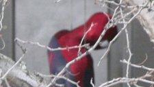 İnanılmaz Örümcek Adam 2 Setten Fotoğraflar