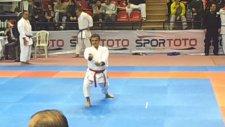 Kamil Üci Türkiye Karate Do Şampiyonasında Kata Empi