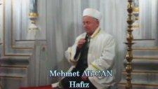Mehmet Ali Can - Kuştepe Camii İmam Hatibi - Amenerrasulü Süresi