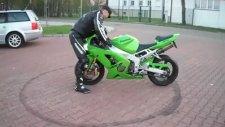 Kawasaki Motorla Kıza Hava Atacaktı Olmadı