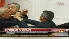 Mehmet Metiner CHP'li Milletvekiliyle Yumruklaştı