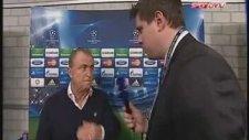 Fatih Terim'in Maç Sonu Röportajı (schalke 04 Galatasaray)