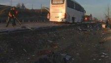 Uşakta Yolcu Otobüsü Devrildi: 7 Ölü