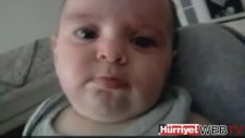 Tini Mini Hanım Şarkısını Duyunca Ağlayan Bebek