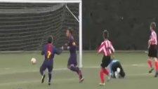 Barcelona'nın gençleri inanılmaz! | 5. saniyede attılar