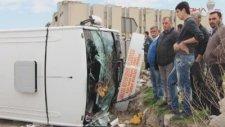 Ankarada Halk Otobüsü Kazası