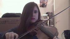 Metallica Unforgiven - Türk Kızından Keman Solo