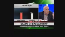 Ahmet Çakar Real Madrid Maçında Galatasaray'ın Şansı %3