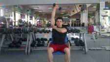 Evde Yapılabilecek Arka Kol Triceps Çalışması