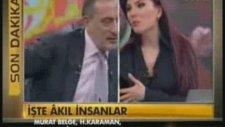 Fatih Altaylı Muhabiri Fırçaladı! Salak Değiliz...