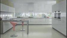 Akrilik Kapaklı Mutfak Dolap Modelleri