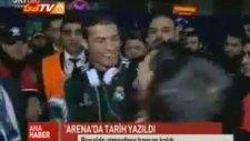 C. Ronaldo ve Adanalı Ronaldo Buluşması Sonrası İlk Röportaj
