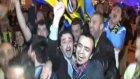 Taksim'de Fenerbahçe coşkusu