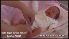 Bebeklerde Göbek Bağı Bakımı