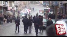 Bitliste Polis Panzerleri Gül Suyu Sıktı!