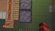 Minecraft Sürgülü Kapı