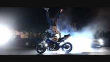 Motorbike Stunts - Night Riding Hd