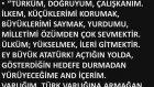 Ders Andımız Türküm Doğruyum - Ne Mutlu Türküm Diyene Eğitim Linki