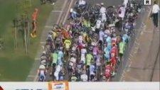 Antalya Cumhurbaşkanlığı Bisiklet Turunda Kaza