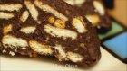 Çikolatalı Dondurmalı Mozaik Pasta Tarifi