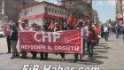 Nevşehirde 1 Mayıs Yürüyüşü