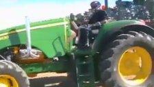 Traktörlerin Güç Gösterisi