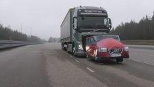 Volvo Tırlarında Acil Fren Sistemi