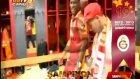Galatasaray Soyunma Odasında Şampiyonluk Coşkusu