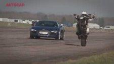 Audi R8 V10 Plus Vs Ducati Diave