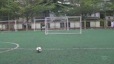 Cristiano Ronaldo Gibi Free Kick Vurmak