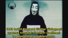 Anonymous Suriye'ye Karşı Oynanan Oyunları Deşifre Etti !