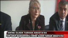 Emine Ülker Tarhan Amasya'da