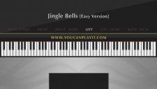 Müzik Dersi : Jingle Bells Easy Piano Tutorial Parmak Pozisyonları Notası