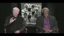 Morgan Freeman Canlı Yayında Uyuya Kaldı!