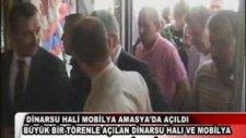 Dinarsu Hali Mobilya Mağazası Amasya'da Açıldı