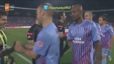 Zokora Emre Belezoğlu'nun Elini Sıkmadı (Türkiye Kupası Final Maçı Fenerbahçe 1-0 Trabzonspor)