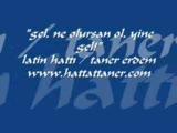 Yazarken Çekim / Hattat Taner Erdem