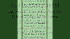 68. Sayfa Al-i İmran Suresi 149 Ve 153. Ayetler Ve Türkçe Meal