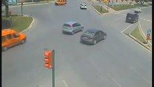 Feci Kazalar Mobese Kameralarına Takıldı
