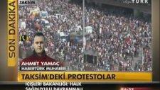 Taksim Gezi Parkı'nda Son Durum