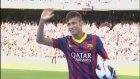Neymar Nou Camp'ta Barcelona taraftarı ile!