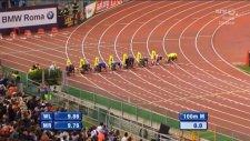 Justin Gatlin Usain Bolt'u böyle geçti!