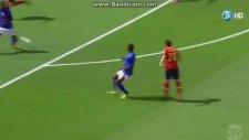 Santi Cazorla'dan Süper Gol!