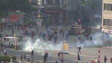 Polis Ekipleri Taksim Meydanı'nda