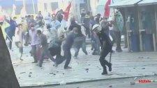 Polisin Göstericiyi Vurduğu An - Gezi Parkı Olayları