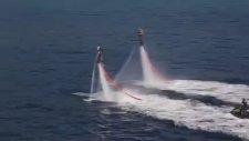 Denizde Flyboard Show