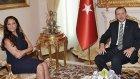 Hülya Avşar, Erdoğan ile Görüştü
