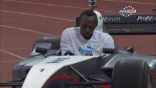 Usain Bolt Formula 1'de!